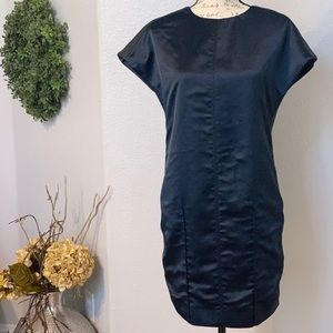 Etcetera blue and gray dress size 0